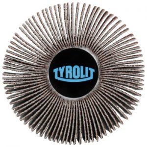 Žiedlapiniai šlifavimo ritinėliai Tyrolit Basic*